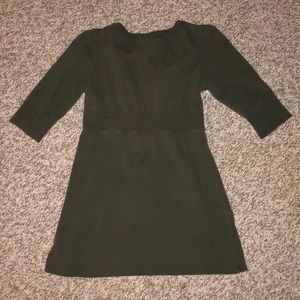 FOREVER brand Empire waist adorable olive Top Sz M